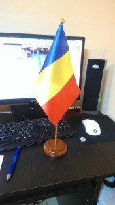 Stegulet Romania de birou