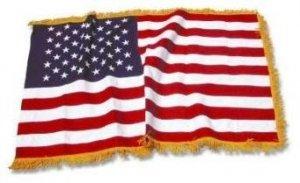 steag national cu franjuri